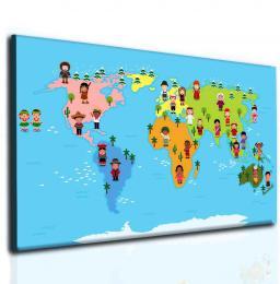 InSmile ® Svìtová mapa pro dìti