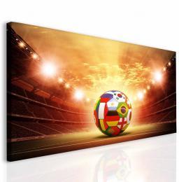 InSmile ® Dìtský obraz fotbalový míè