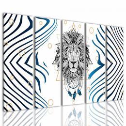 InSmile ® Obraz Lev ochránce snù Velikost  150x80 cm
