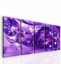 InSmile ® Obraz fialový hvìzdný prach