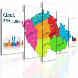 InSmile ® Obraz mapa Èeské republiky