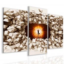 Malvis Obraz jóga a meditace