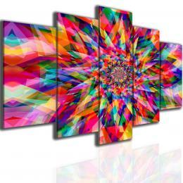 Malvis Obraz mandala kaleidoskop