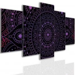 Malvis Obraz purple mandala