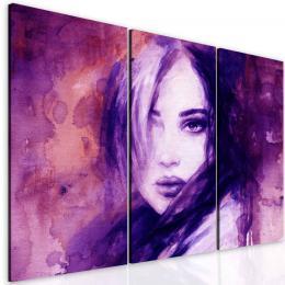InSmile ® Obraz fialová kráska