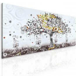 InSmile ® Obraz malovaný abstraktní strom