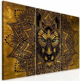 InSmile ® Obraz abstraktní vlèí mandala
