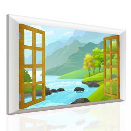 InSmile ® Dìtský obraz okno do pohádky