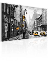 Malvis Obraz newyorská ulice žlutá