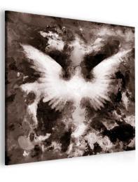 InSmile ® Abstraktní obraz andìlská køídla - hnìdý