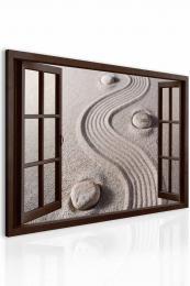 Obraz okno píseèná harmonie