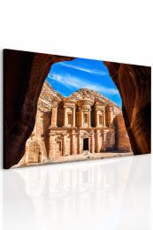 Malvis Obraz Petra v Jordánsku