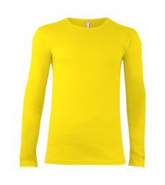 102 Trièko pánské Long Cyber Yellow|L