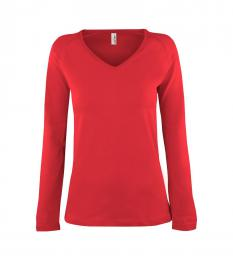 107 Trièko dámské Long Fiery Red|XL