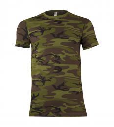 118 Trièko pánské Military Camouflage|M
