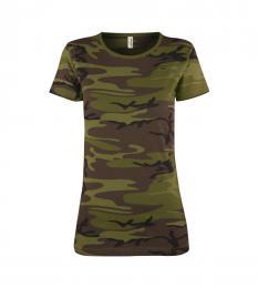 119 Trièko dámské Military Camouflage|M