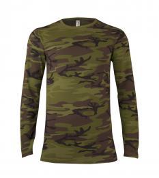 120 Trièko pánské LS Military Camouflage|L