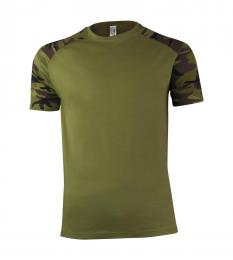 121 Trièko pánské Raglan Military Camouflage|S