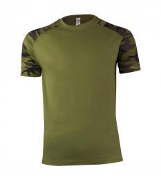 121 Trièko pánské Raglan Military Camouflage|XXXL