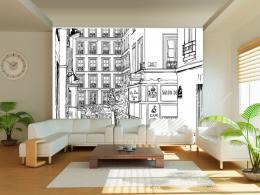 Murando DeLuxe Tapeta procházka ulicemi Paøíže  - zvìtšit obrázek