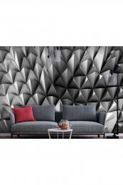 Murando DeLuxe 3D tapeta ocelové hroty Vliesové (šíøka x výška)  300x210 cm