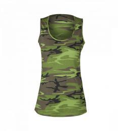 125 Dámské tílko Camouflage|XL