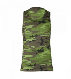 126 Pánské tílko Camouflage|M