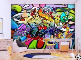 Murando DeLuxe Tapeta Graffiti tøešnì