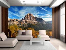 Murando DeLuxe Tapeta pohled na italské Dolomity Rozmìry (š x v) a Typ  400x280 cm - vliesové