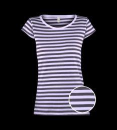 Dámské trièko Anne - modrobílý proužek