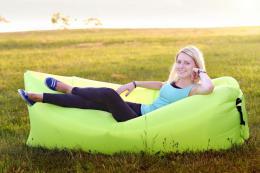 Samonafukovací LAZY-BAG zelený  - zvìtšit obrázek