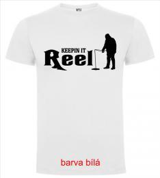Chlapecké/Pánské trièko KEEPIN IT REEL - Rybáø
