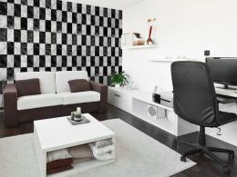 Murando DeLuxe Šachovnice Klasické tapety  49x1000 cm - samolepicí