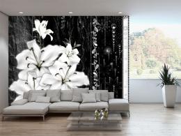 Tapeta plaèící lilie - 350x245 cm - Murando DeLuxe