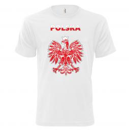 184 Fan trika PL White|XXL