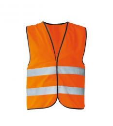 186 Bezpeènostní vesta Safety Orange|XL