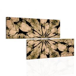 Malvis Obraz zlaté paprsky mandaly