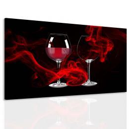 InSmile ® Obraz vášeò ve sklenièce vína