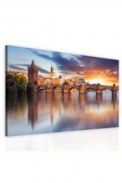 InSmile ® Obraz Karlùv most pøi západu  - zvìtšit obrázek