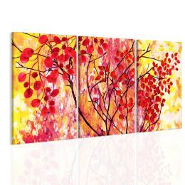 InSmile ® Obraz podzimní listí