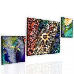 InSmile ® Obraz exotická mandala I Velikost  120x80 cm