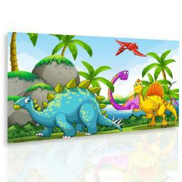 InSmile ® Obraz dinosuøi