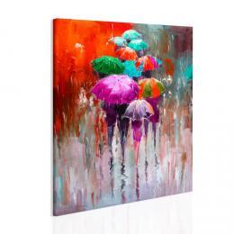 Malvis Obraz procházka v dešti II