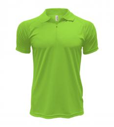 206 Polokošile pánské Colorado Safety Green|XL