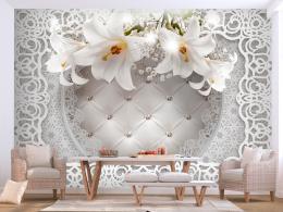 Samolepicí 3D tapeta Lilie královská - 196x140 cm - Murando DeLuxe
