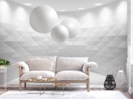 Samolepicí tapeta geometrie v pohybu - 196x140 cm - Murando DeLuxe