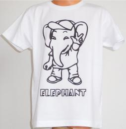Dìtské trièko k vybarvení SLON