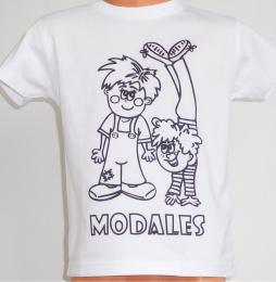 Dìtské trièko k vybarvení MODALES