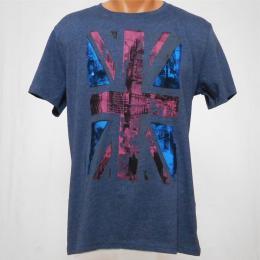 Modrošedé pánské trièko Boyd - L