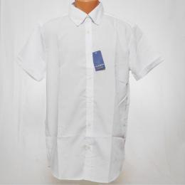 Bílá pánská košile s krátkým rukávem - XXL